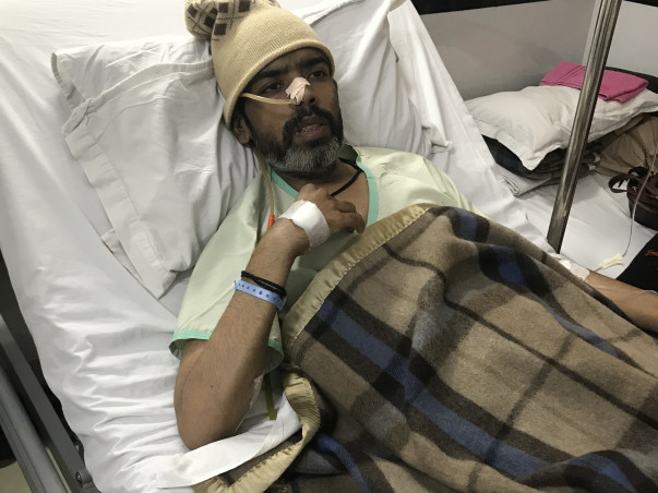 Help Harish Kumar To Fight Cancer.