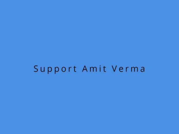 Blood Cancer of Mr Amit Verma