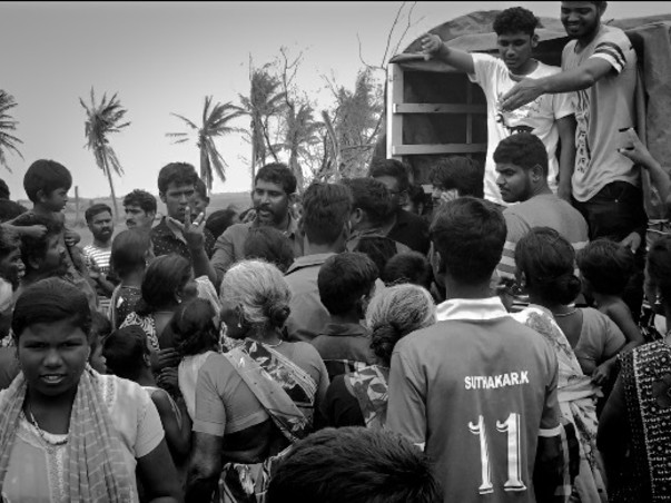 Help Us Distribute Food To Cyclone Affected People