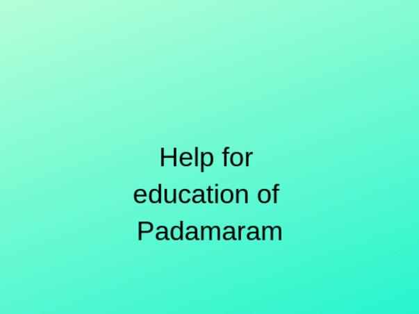 Help Ero Kumari and Rooparam get education