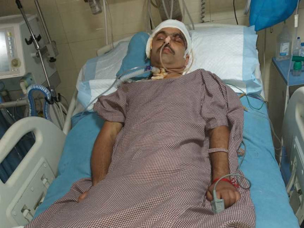 Help Manoj Recover From Severe Head Injuries