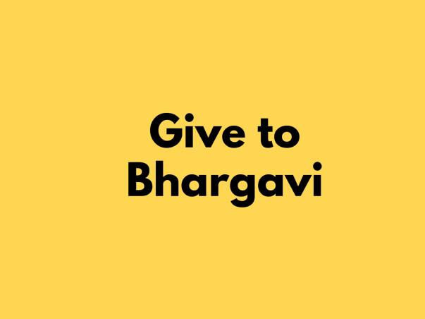 Help Bhargavi Fight Cervical Cancer