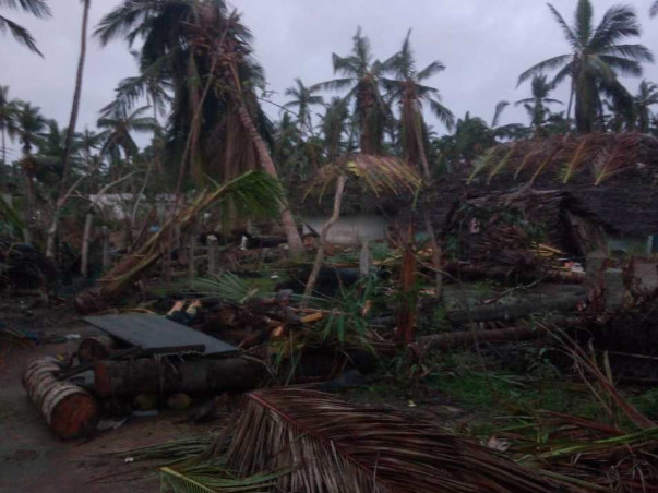 Help to rebuild the lives of people after Cyclone Gaja