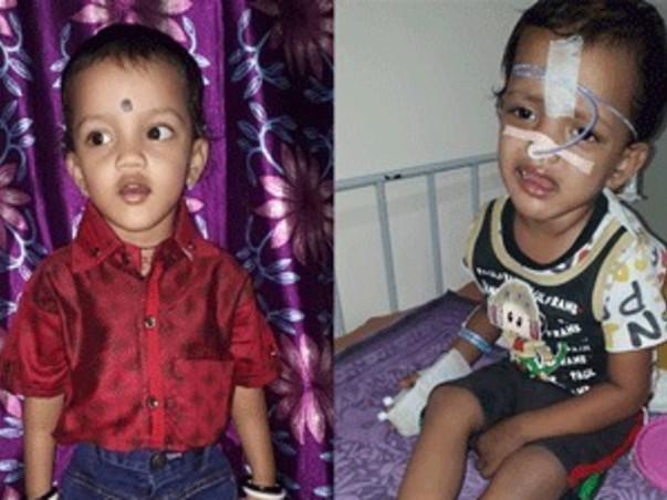 Help 2-year-old Shlok Fight Eye Cancer