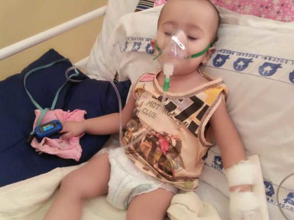 Help 1-year-old Aviraj Fight Blood Cancer