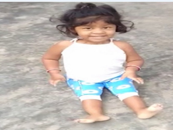Help 2-year-old Dheevena Stand Again