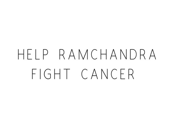 Help Ramchandra from Muscle Tumor