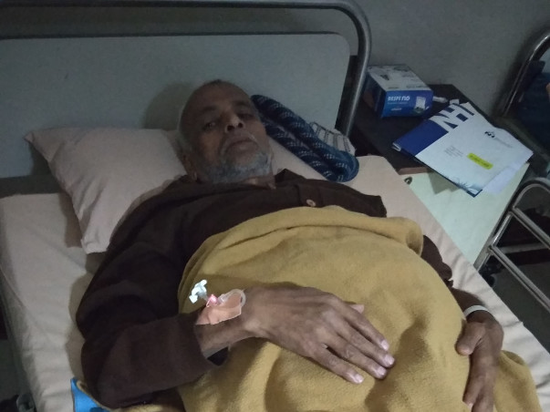 Help My Father Jalees Ahmed To Get Liver Transplant