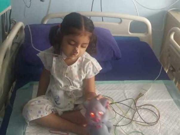 Help 5 Year Old Kareena Fight Thalassemia