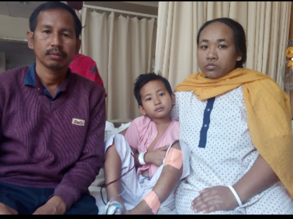 Help 6 Year-Old Pratik Fight Aplastic Anemia and Undergo BMT