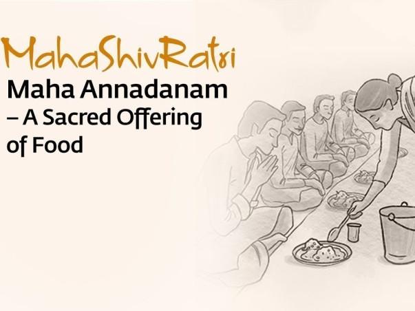 Donate for Mahashivratri Annadhanam