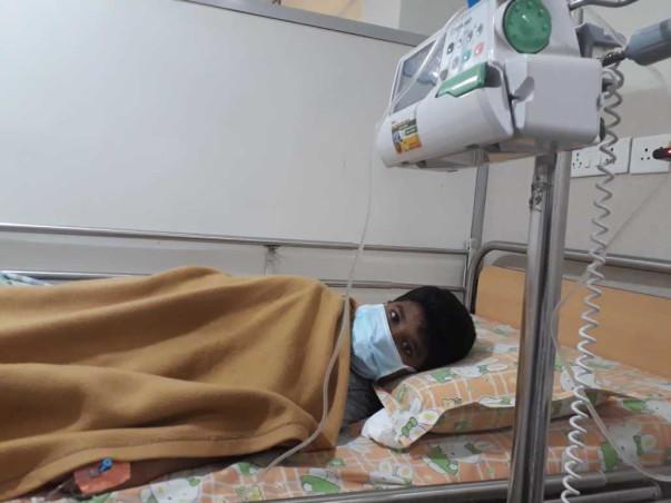 Help Karthick Fight Cancer