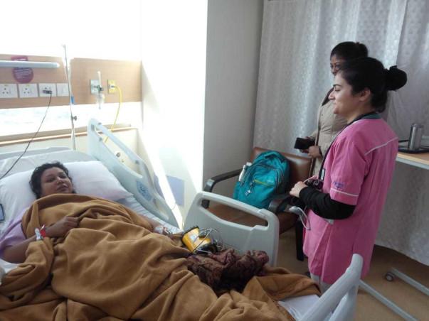 Help Preeti fight breast cancer