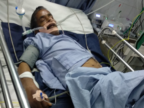 Help My Father Fight Serious Respiratory Failure