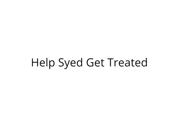 Help Syed Undergo Surgery for Persistent Chordee