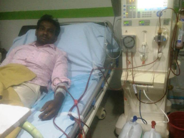 Help Udhayakumar For Renal Transplant!