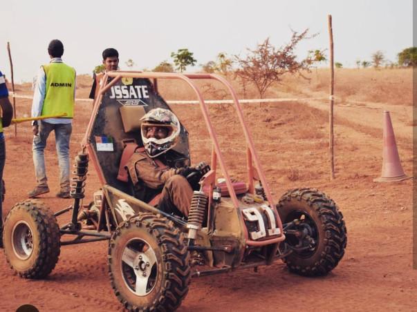 Support Team Vega To Win The BAJA SAE INDIA Championship