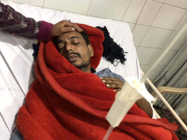 Help Juber Get Treated for Fungal Infection
