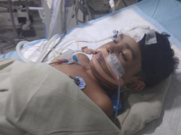 Help baby davathi to undergo brain tumour surgery