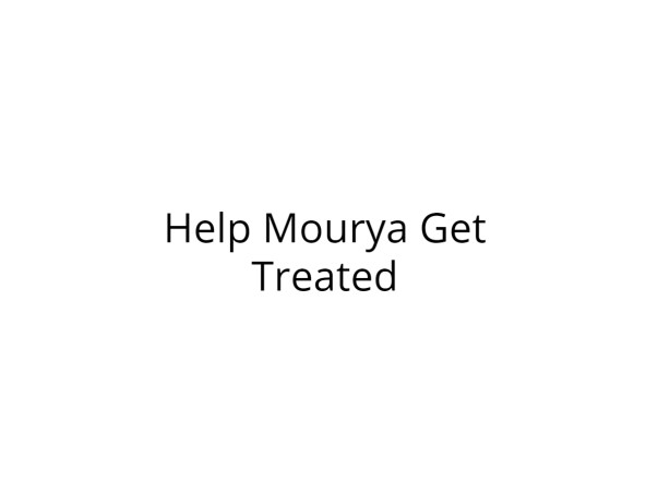 Help Mourya Fight Cancer