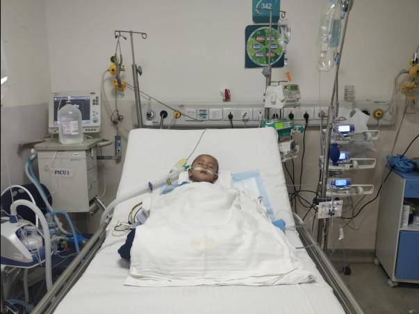 Help 1 Year Old Faizal Recover From Pneumonia, WALRTI & Adenovirus