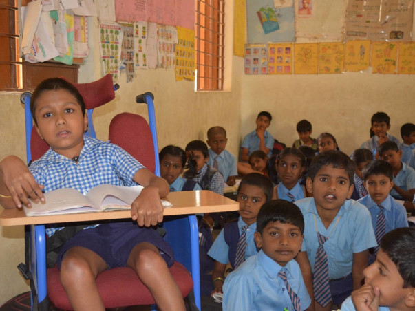 School for All-Ensuring Education Of Children In Difficult Conditions