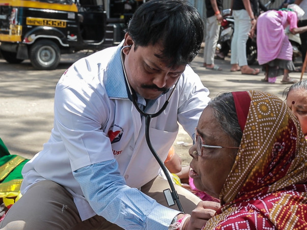 Help Dr. Abhijit Treat Beggars for Free
