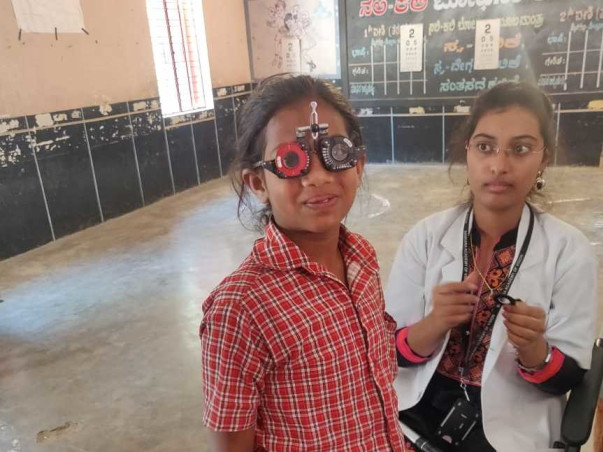 Save future of these children! Provide them the necessary spectacles!