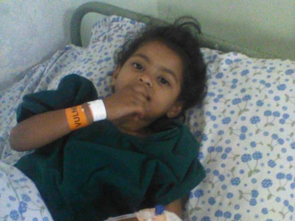 Help Little Sonu Fight Cancer