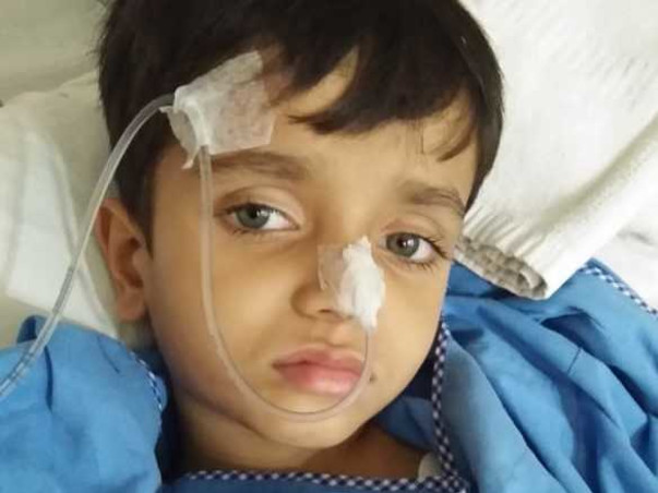 Boy With Severe Brain Infection Can't Recognise Parents, Needs Help