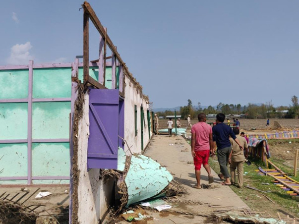 Join Us Reconstruct School Building Ravaged by Cyclone