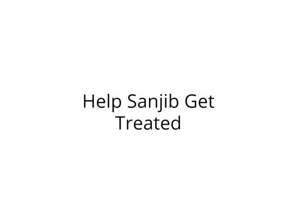 Help Sanjib Fight Cancer
