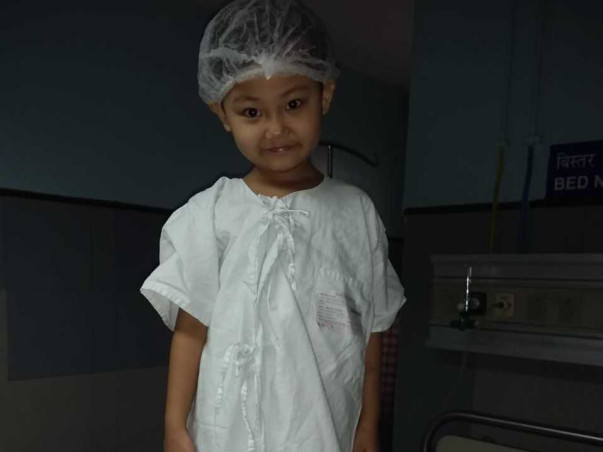 Help Baby Adelaine Fight Cancer