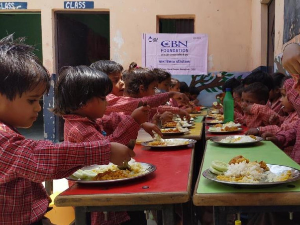 Sponsor Nutritious Meal for Children