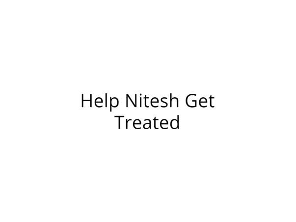 Help Nitesh Undergo Kidney Transplant