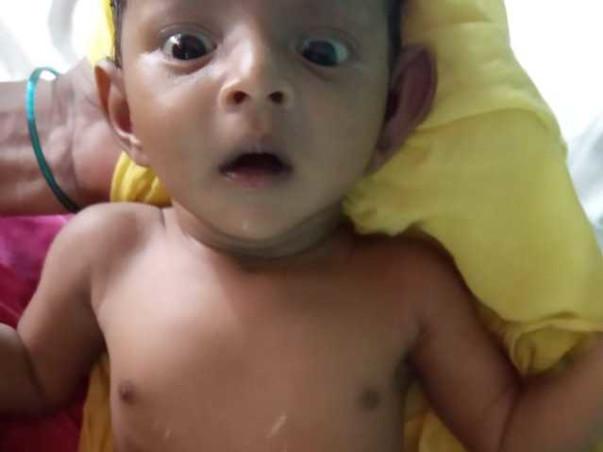 Help baby Venkatesh under go Heart surgery.