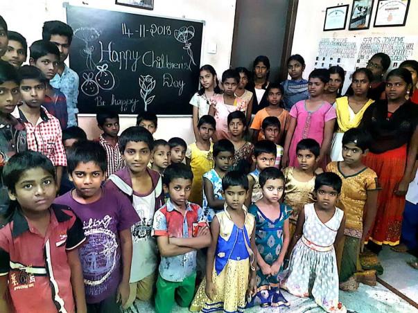Sponsor Education & Food of Orphan Children in India