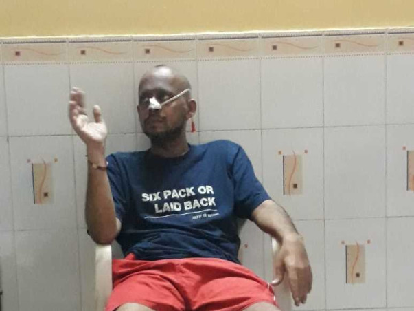 Help cancer patient Sharad Khot