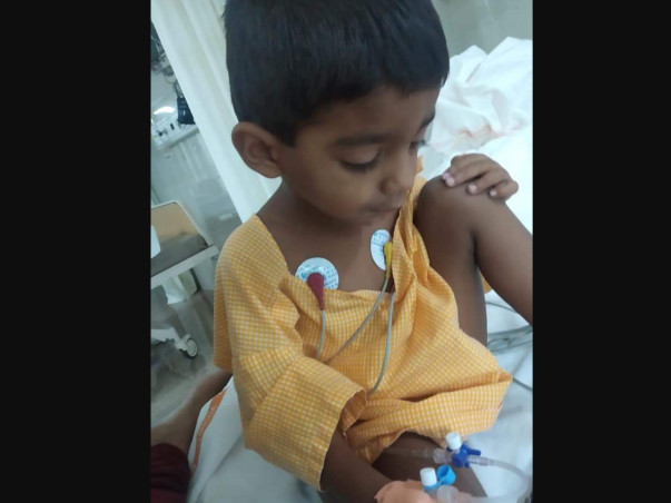 Please Help 3 Year Old Rithvik Get Treated For ADHD With Epilepsy