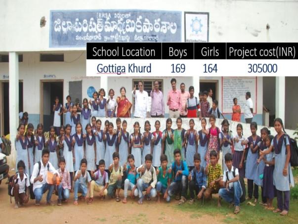 Lets create happy schools in Vikarabad, Telangana, India