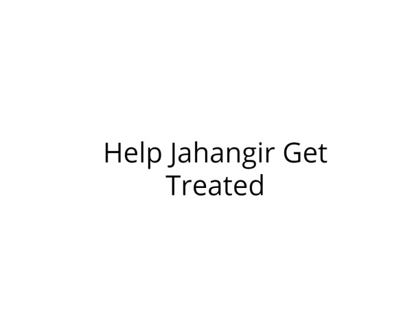 Support Jahangir Fight Cancer