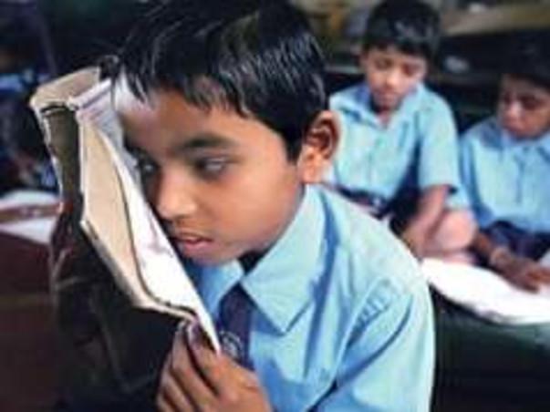 Blind children skill development program