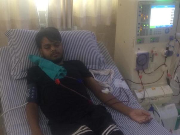 Help Sahil for Kidney Transplant