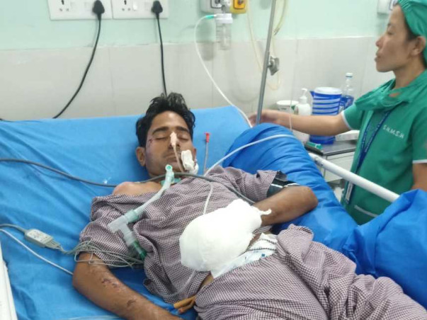 Help Nahid Recover From A Major Accident