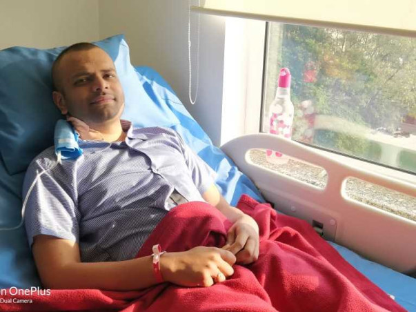 Help Kaustubh Fight Cancer