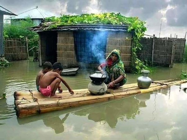 Assam Floods - Donate here and help in rebuilding the state.