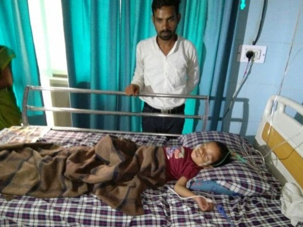 3-Year Old Son Of Daily Wager Suffering From A Hole In His Heart