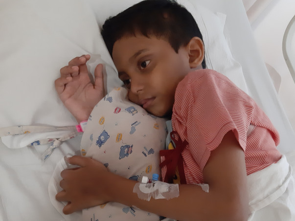 Help Little Unnabh Post Viral Encephalitis Medical Expenses-EMERGENCY