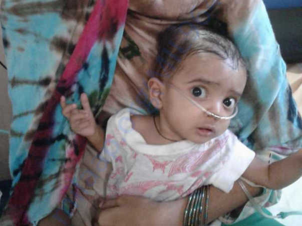 Save Baby Ayesha Siddiqua's Life