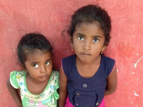 Help Amulya and Rishitha... Save the children